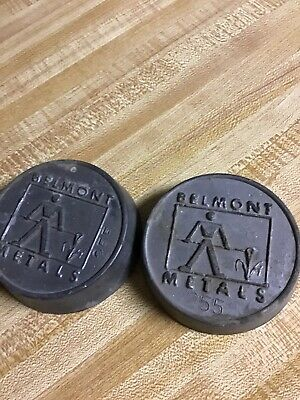 5 Lbs. Belmont Metals 58 Bismuth 42 Tin Alloy 255 Degree F Melt 2562