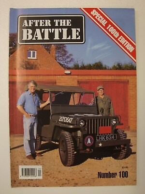 After The Battle # 100 (Special Edition Features, Skeeter, Malta WW2, Mussolini)