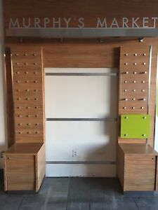 Display unit with shelves for sale