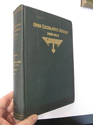 US Government Ohio Legislative History Judson Harmon Constitutional Convention