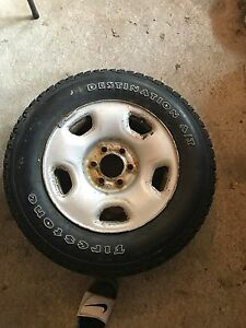 """Ford Rims and Tire combo 6x135mm 17"""""""