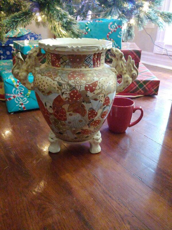 Antique Asian Vase  Japanese