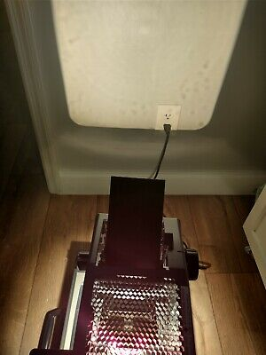 Vtg 3m 2000 Portable Briefcase Folding Overhead Projector Working Lamp Included