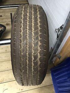 4 pneus Général Grabber   TR  LT245/70R17 états neuf