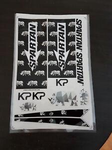 SPARTAN KP RHINO CRICKET BAT STICKERS BUY ONE GET ONE DIFFERENT STICKER FREE