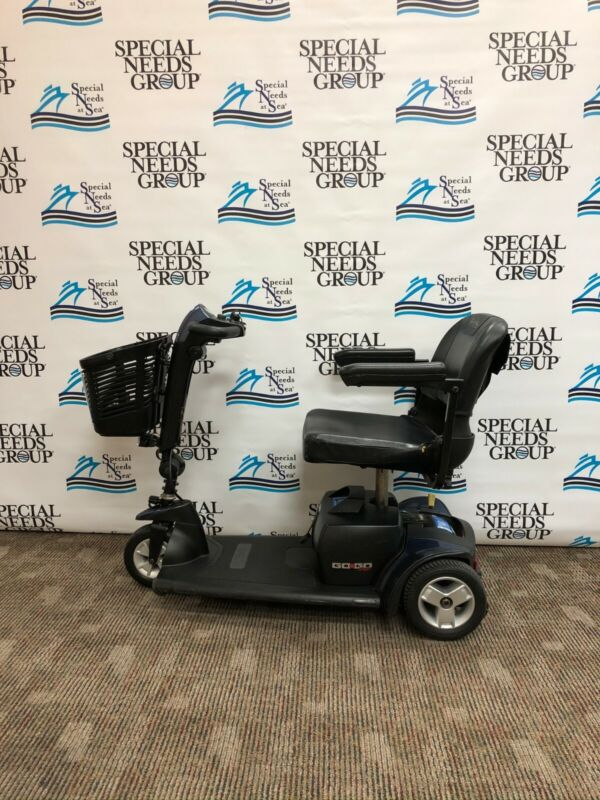 Pride Mobility Scooter, Used Electric Mobility Scooter Go-go Sport S73 Red/blue