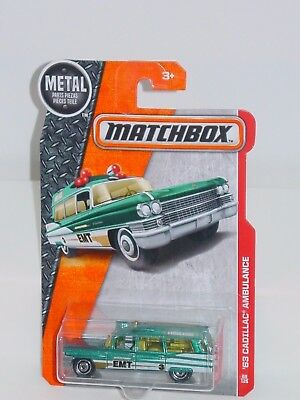 MATCHBOX 2017 #88 '63 CADILLAC AMBULANCE