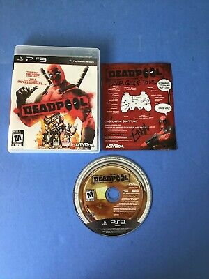 Deadpool (Sony PlayStation 3, 2013) PS3 Complete US/Canada