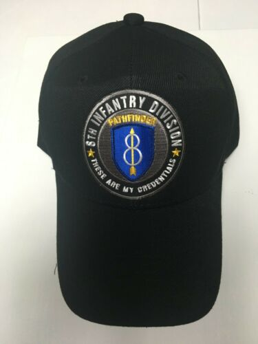 US ARMY 8TH INFANTRY DIVISION MILITARY HAT/CAP