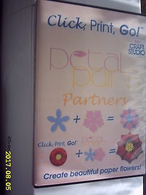 PETAL PAIRS PARTNERS CLICK, PRINT, GO CD (Use with petal pairs punches. NOT incl