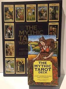 The Mythic Tarot Deck & Workbook - Juliet Sharman-Burke Richmond Yarra Area Preview