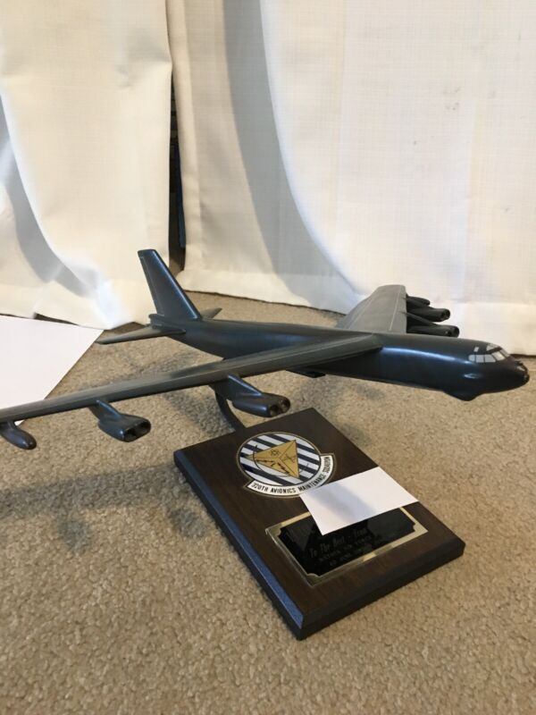 Rare Military Aviation Trophy-Mather Air Force Base-B 52 Bomber for Lt. Col-1987