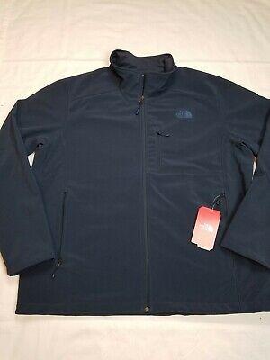 $149 NWT THE NORTH FACE Men's Apex Bionic 2 JKT Full Zip Navy Jacket Size 2XL