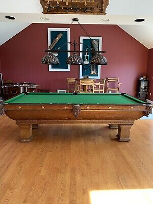 Pleasant Tables Antique Brunswick Pool Table Home Remodeling Inspirations Propsscottssportslandcom