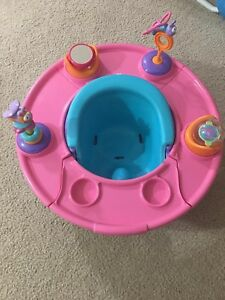 Baby booster activity seat