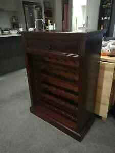 Wine Cabinet-solid wood North Strathfield Canada Bay Area Preview
