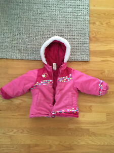 Girls Size 3T Winter Jacket