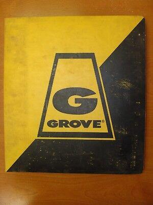Grove Model Rt49 Crane Parts Manual