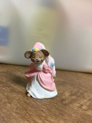 HALLMARK Merry Miniatures Charm Cinderella Mouse 1994 No Box figurine