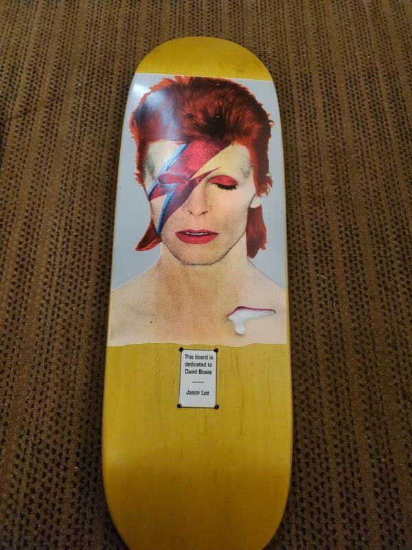 David Bowie Skateboard (#15 / 100 ) Jason Lee / Cease and Desist /Tribute Series