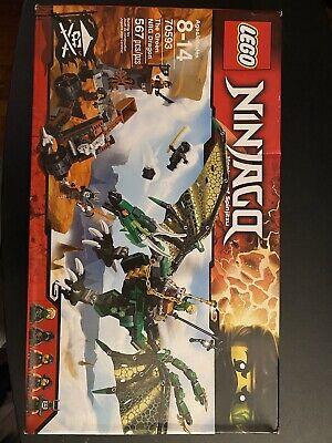Lego Ninjago The green NRG dragon 70593 new