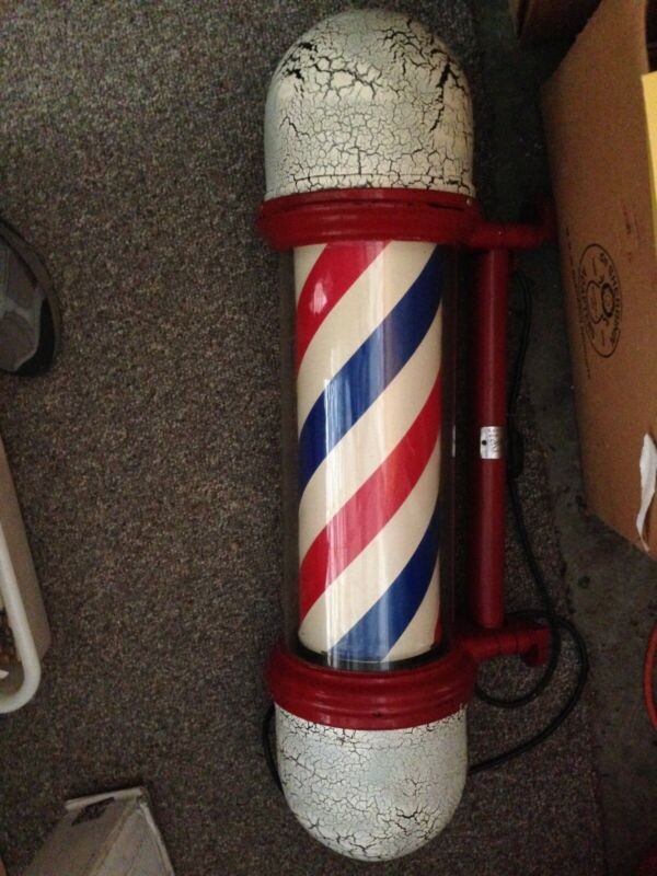 Antique Paidar Barber Pole