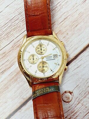 Citizen Quartz Chronograph 0510-C50472 38mm Speedy - New with Tags - Boxed