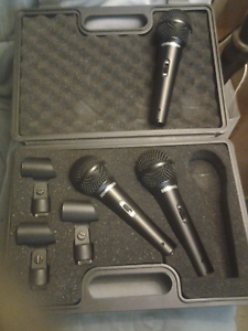 Behringer microphones new set of 3 Tailem Bend The Coorong Area Preview