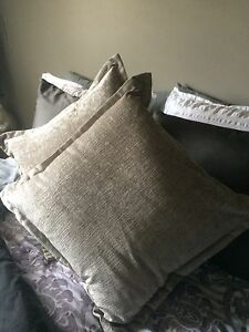 2 extra large urban barn pillows
