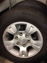 Mazda BT-50 ute wheels car rims Redcliffe Redcliffe Area Preview
