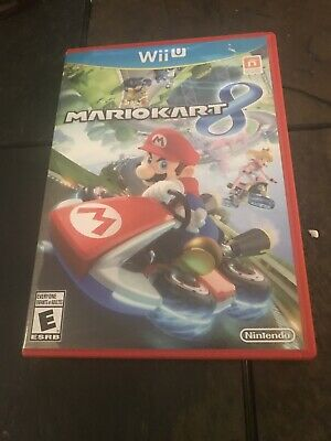 Nintendo Wii U Mario Kart 8 Game - Complete - tested