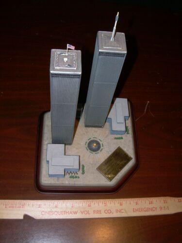 Danbury Mint 9/11 Twin Towers Memorial Figurine
