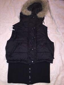 ladies winter vest