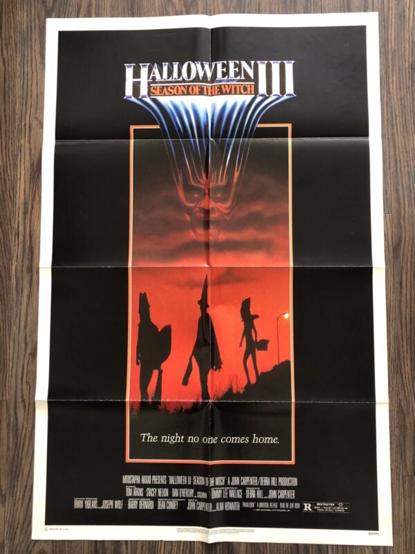 HALLOWEEN 3 Season of the witch 1982 original one sheet