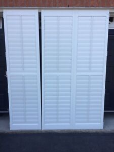 High quality California shutters from patio doors