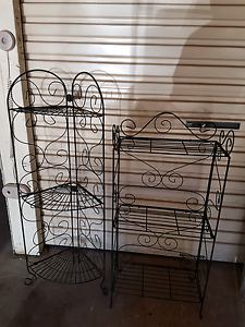 2 x outdoor metal plant stands Ascot Brisbane North East Preview