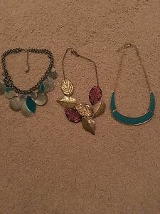 Necklaces X 3 Oakden Port Adelaide Area Preview