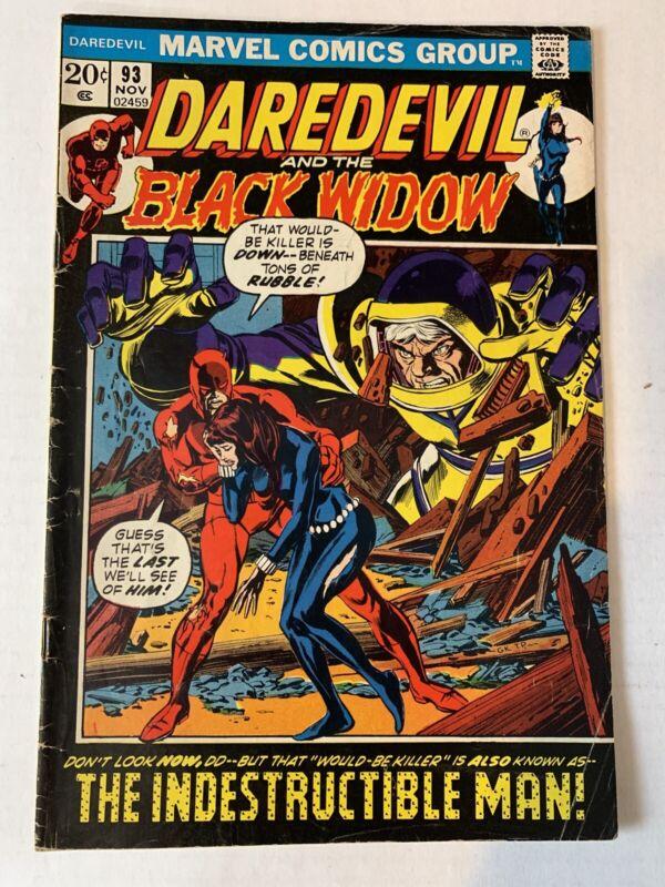 Marvel Bronze Age Daredevil #93