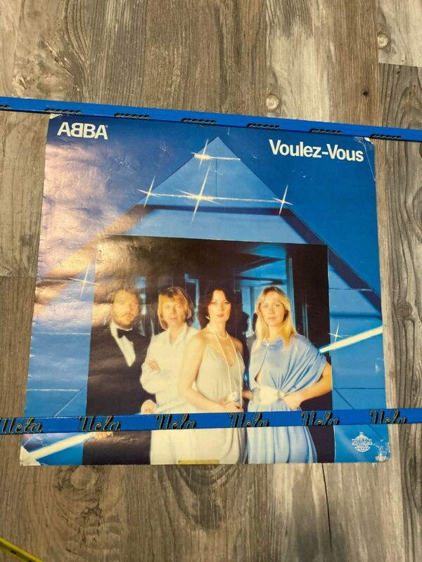 RARE VINTAGE ABBA Voulez-Vous POSTER 20x20 FB