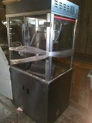 Used Gold Medal Popcorn Machine Display Warmer Cabinet