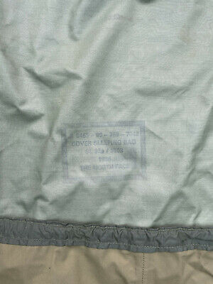 BRITISH ARMY OLIVE BIVI BAG GENUINE ISSUE GORETEX SLEEPING BAG COVER