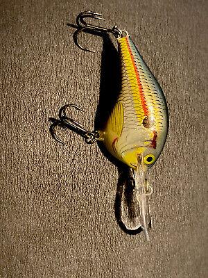 """Rapala DT10PRT Dives To 10 Crankbait Fishing Lure 2 1//4/"""" 3//5 oz Parrot"""