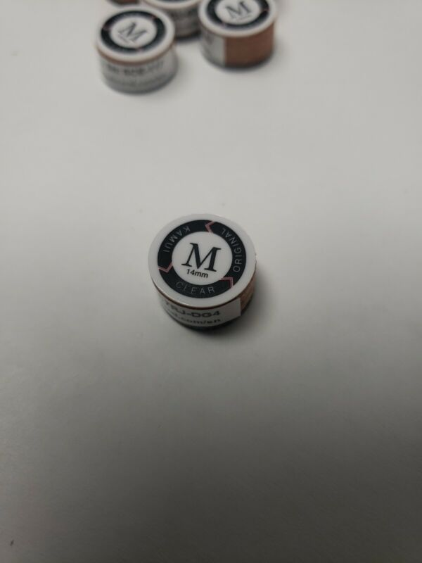 Kamui Clear Original - Medium - Layered Pool Cue Stick Tip - FREE SHIPPING!