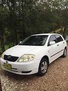Toyota Corolla Acsent Seca Hatchback 2001 Tweed Heads South Tweed Heads Area Preview
