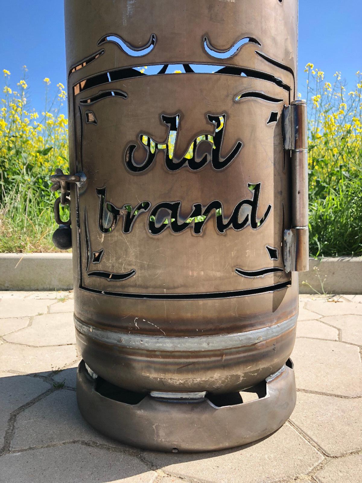 Feuerstelle Whisky old Brand Gartenofen für Whisky Liebhaber Feuerflair