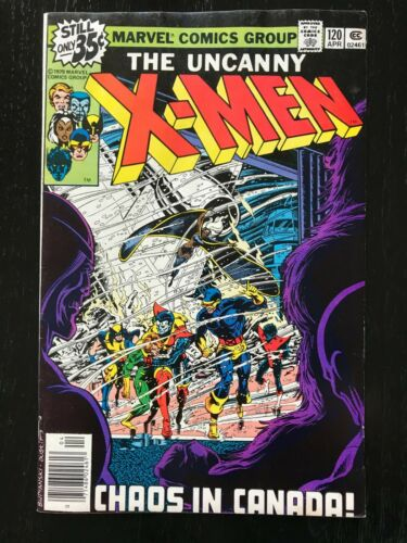 Uncanny X-men 120.  First Appearance of Alpha Flight!!  Nice Copy!!
