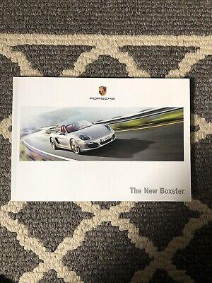 Official 2012/2013 Porsche Boxster Dealer Sales Brochure