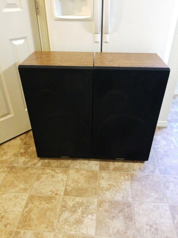 RARE Vintage Marantz Floor Speakers Model SP1515