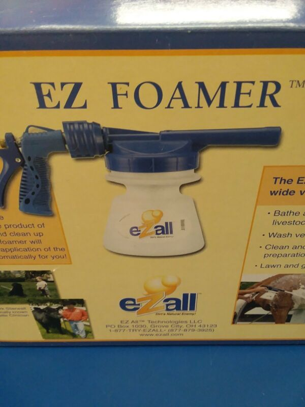 899046001009 EZ Foamer. Use to bathe animals and clean vehicles