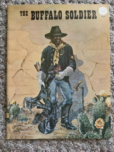 THE BUFFALO SOLDIER ~ PAINTINGS AND TEXT BY LEA FRANKLIN McCARTY ~ 1959 HISTORY